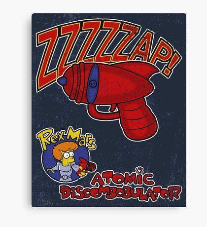 Zzzzzap! Canvas Print
