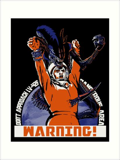 Warning. by J.C. Maziu