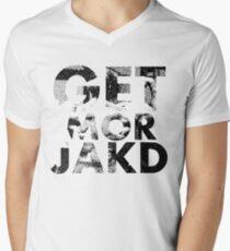 GET MOR JAKD Mens V-Neck T-Shirt