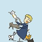 John and cats because I can't find a better title by YuriOokino