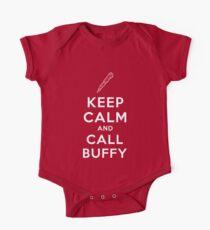 Keep Calm And Call Buffy One Piece - Short Sleeve