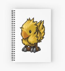 Pixelart Chocobo Spiral Notebook