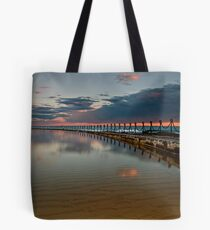 Rusted Chains Tote Bag