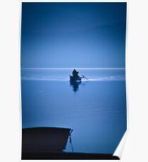 Greek lake-Kerkini Poster