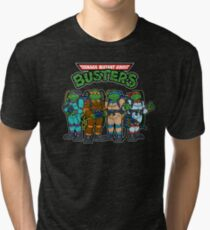 Teenage Mutant Ghost Busters Tri-blend T-Shirt