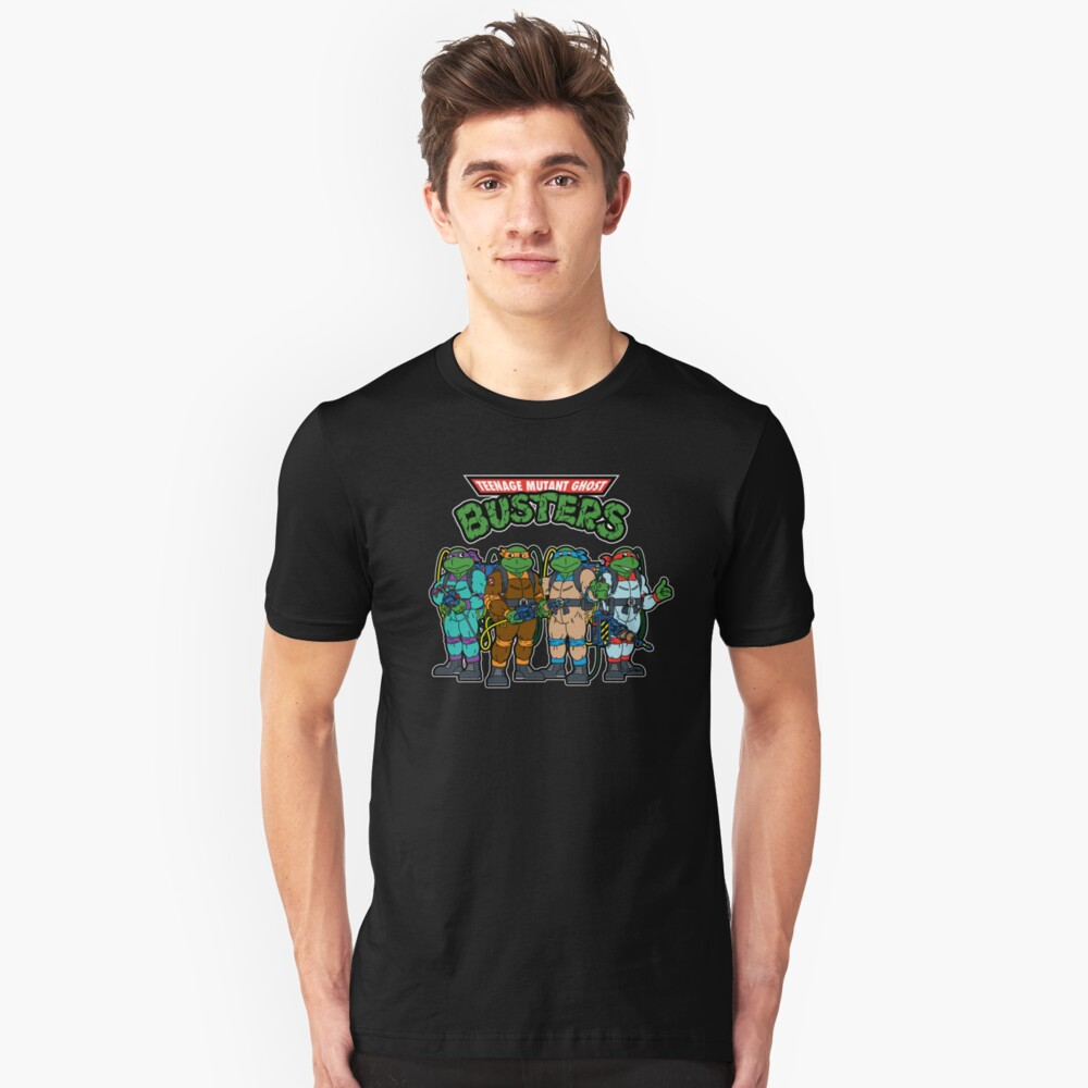Teenage Mutant Ghost Busters Unisex T-Shirt Front