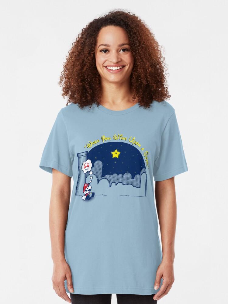 Alternate view of Make A Wish Slim Fit T-Shirt