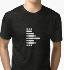 star wars (in morse code) Tri-blend T-Shirt