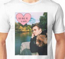 Joe Sugg nature happy Unisex T-Shirt