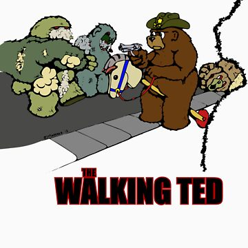 The Walking Ted by Sozdanee