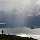 Rain showers in Lyngen by Algot Kristoffer Peterson