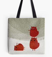 Stacked squirrel Tote Bag