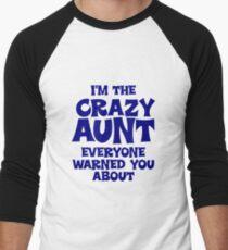 Crazy Aunt Men's Baseball ¾ T-Shirt