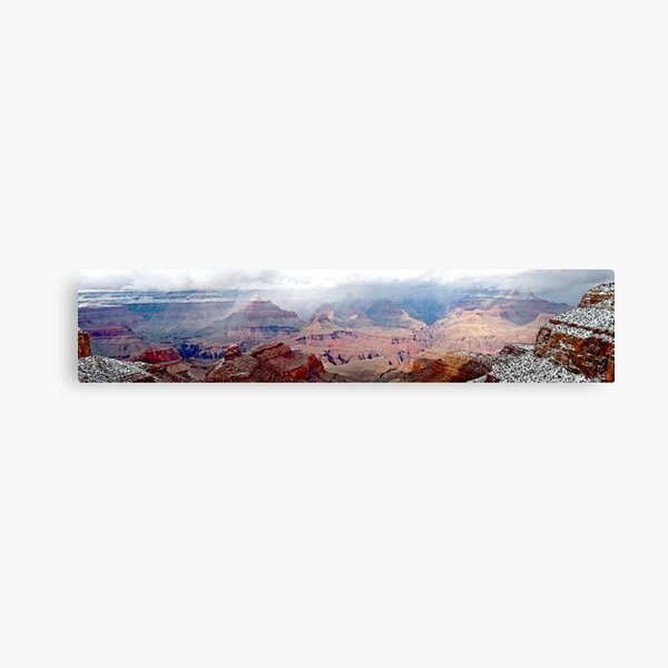 Grand Canyon (Panorama)......best viewed larger Canvas Print