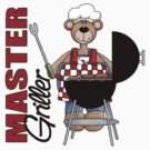 Master Griller Bear by cowpie