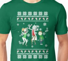 rick and morty xmas /idgaf print/ Unisex T-Shirt