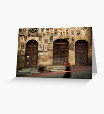 Arezzo Runner Greeting Card