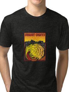 SUNSET CLIFFS Tri-blend T-Shirt