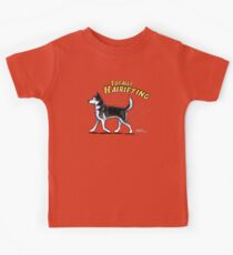 Siberian Husky :: Totally Hairifying Kinder T-Shirt