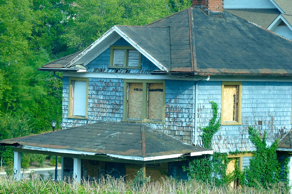 Abandoned Blues by skyhat