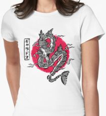 Ryu no inku Women's Fitted T-Shirt