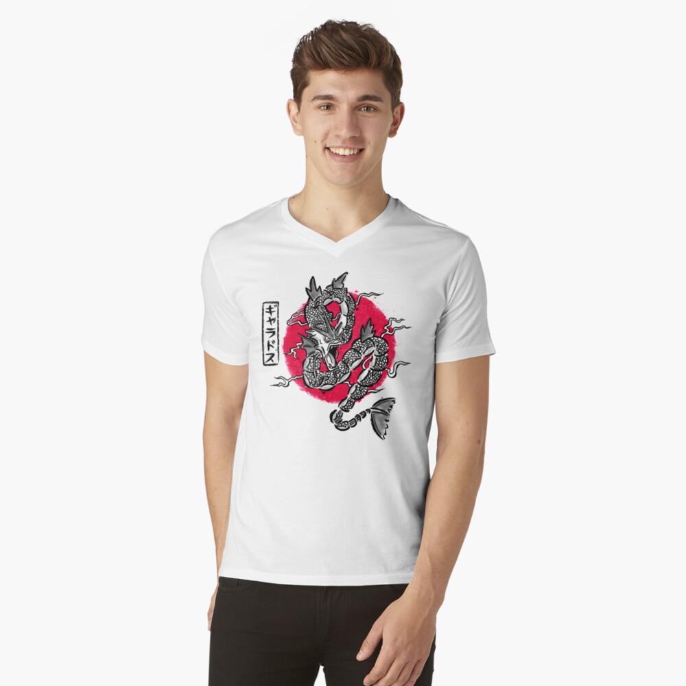 Ryu no inku V-Neck T-Shirt