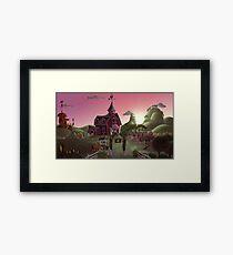 Sweet Apple Acres, Dawn Framed Print