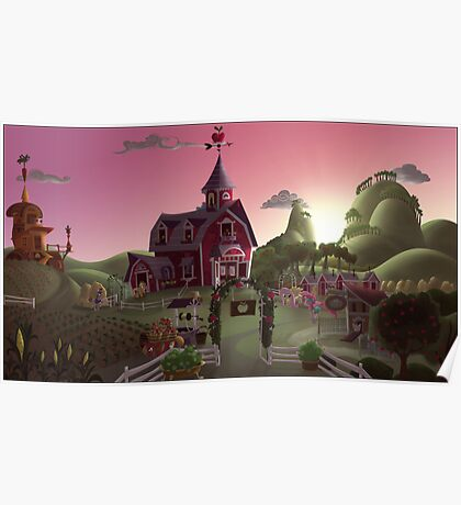 Sweet Apple Acres, Dawn Poster