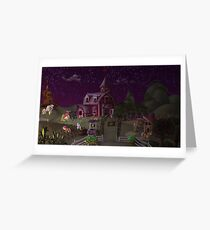 Sweet Apple Acres, Dusk Greeting Card
