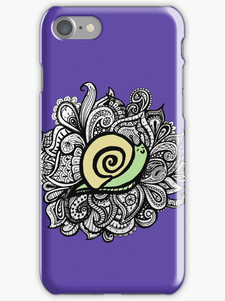 iPhone paisley snail  by eleveneleven