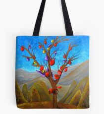 Solid Fantasies and Delicate Realities Tote Bag