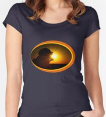 Sun Eater Women's Fitted Scoop T-Shirt
