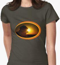 Sun Eater Women's Fitted T-Shirt