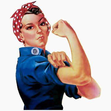 Rosie The Riveter by thecriticalg