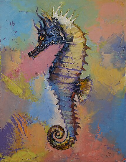 Seahorse by Michael Creese