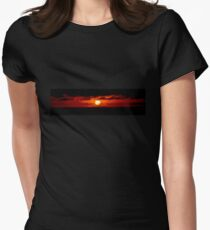 Galapagos Islands Sunset Women's Fitted T-Shirt