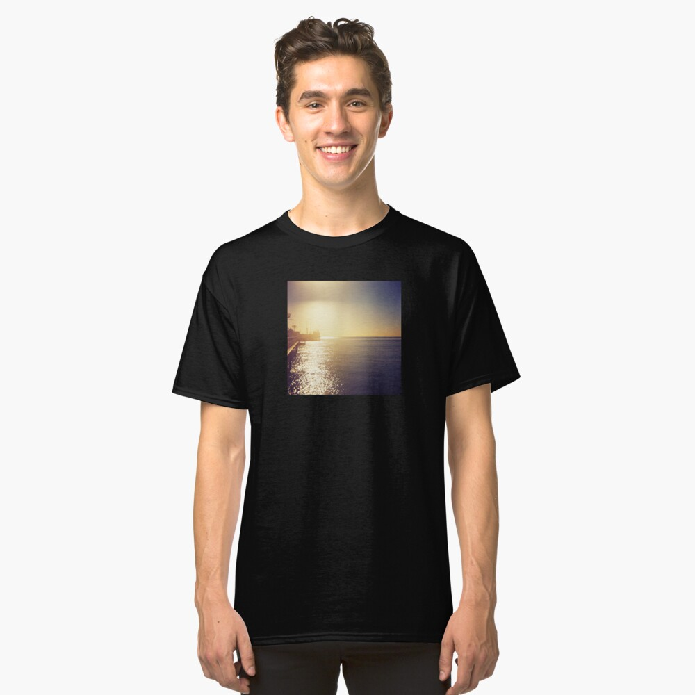 Glow of the Pier Classic T-Shirt Front