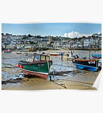 St Ives Harbour ~ Cornwall Poster