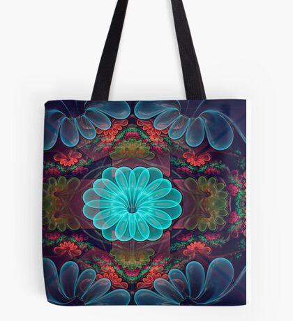 Wax Flowers Tote Bag