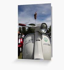 SX SPECIAL LAMBRETTA. Greeting Card