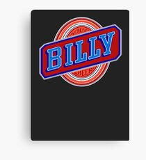 Billy beer  Canvas Print