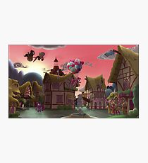 Ponyville, Dawn Photographic Print