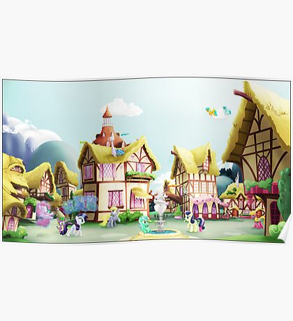 Ponyville, Noon Poster