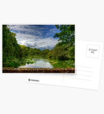 The River Itchen from a Bridge at Itchen Stoke Postcards