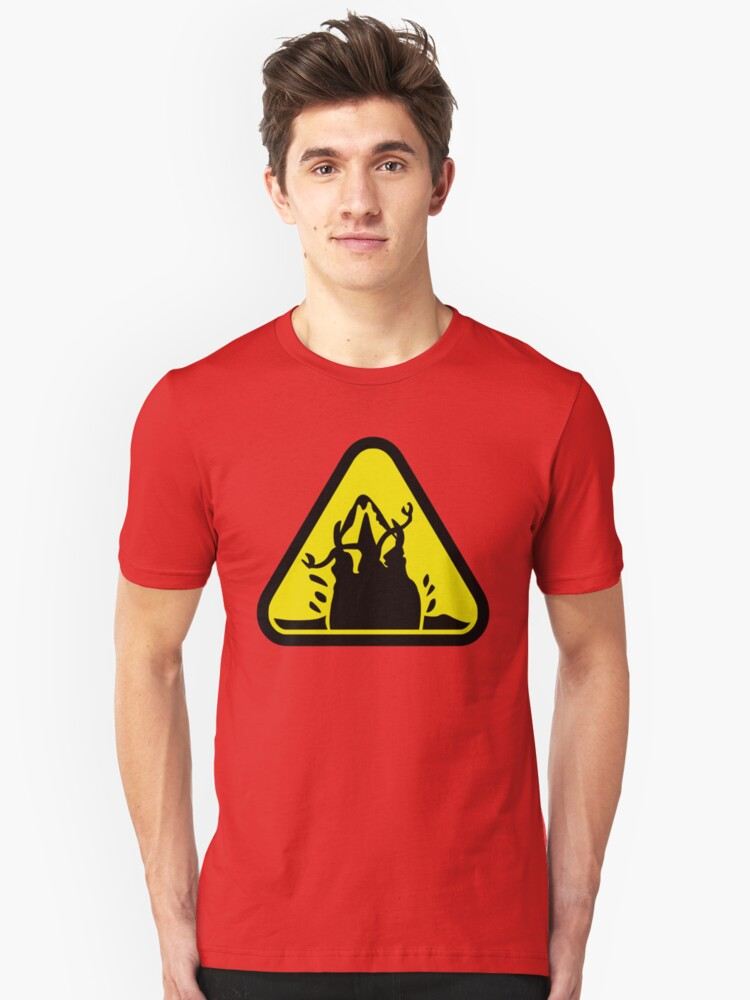 Beware of the Graboid! Unisex T-Shirt Front