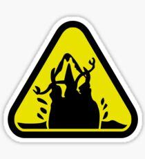 Beware of the Graboid! Sticker