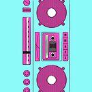 cassette player by Gal Ashkenazi