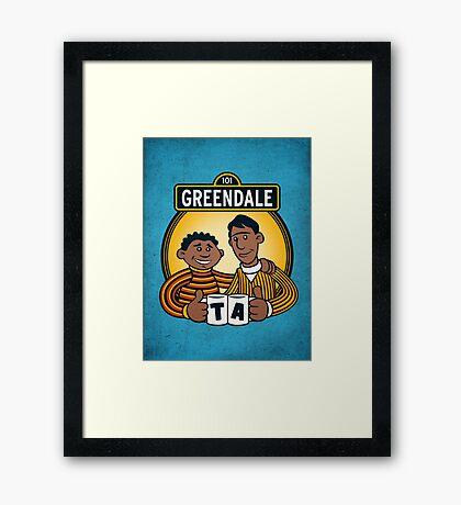 Greendale Street  Framed Print