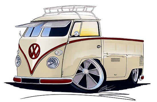VW Splitty Pick-Up (RB) by Richard Yeomans