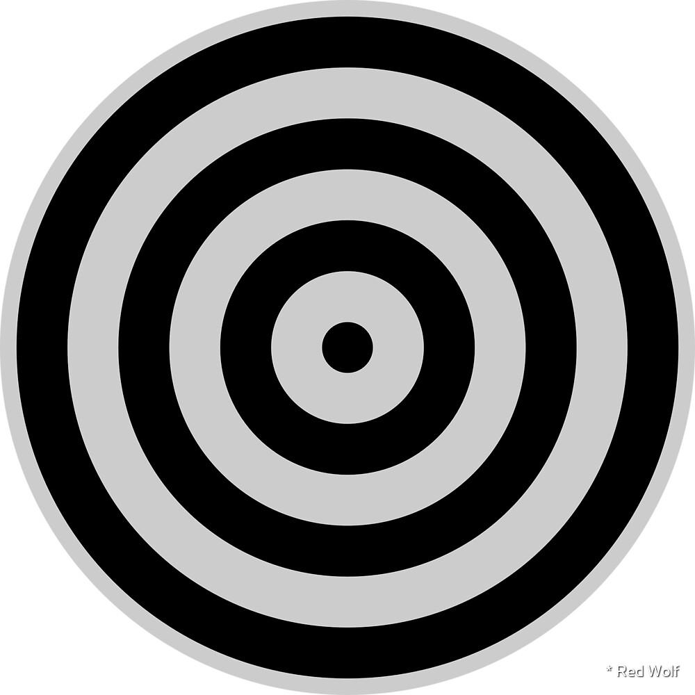Geometric Pattern: Rondel: Black Ash by * Red Wolf